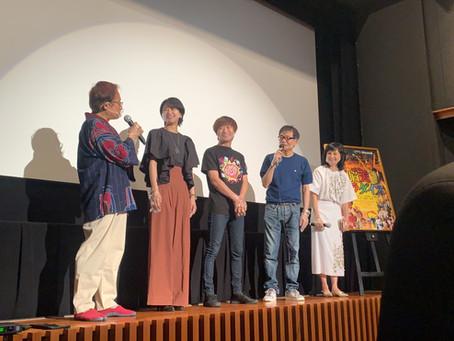復活ロードショー初日舞台挨拶!