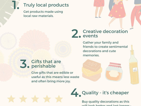 5 tips for sustainable holiday shopping