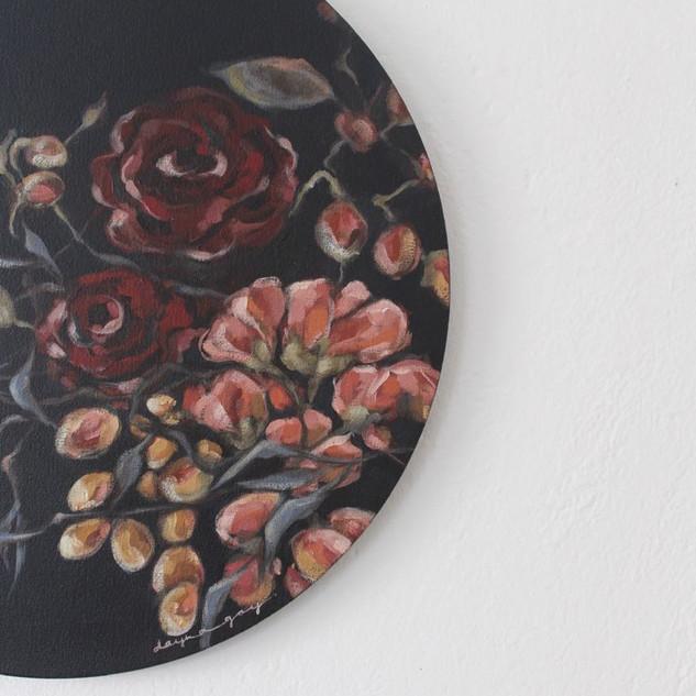 Vintage Bloom (ii) close-up