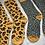 Thumbnail: 2 x pairs Leopard Print Socks