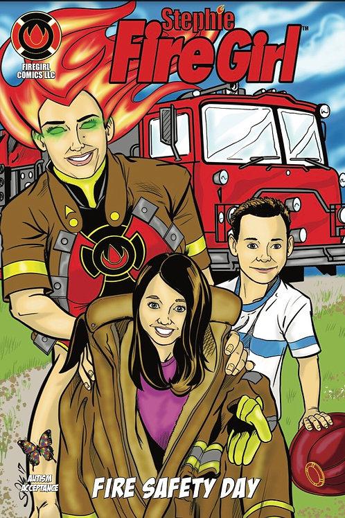 Stephie FireGirl Fire Safety Day