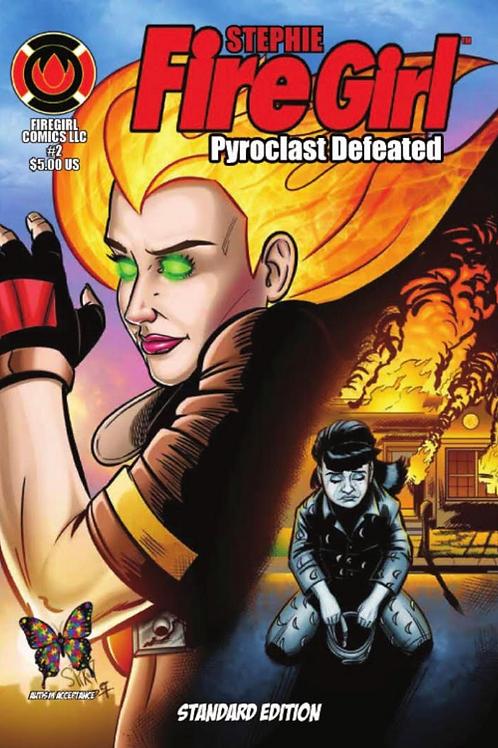 5. Stephie Firegirl Issue #2 Standard Edition