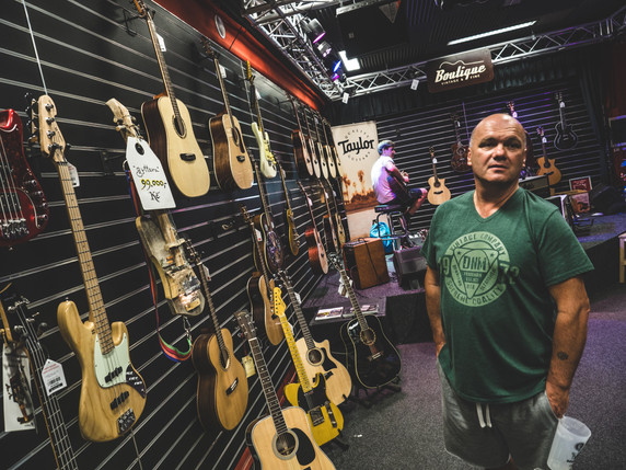 Výstava kytar