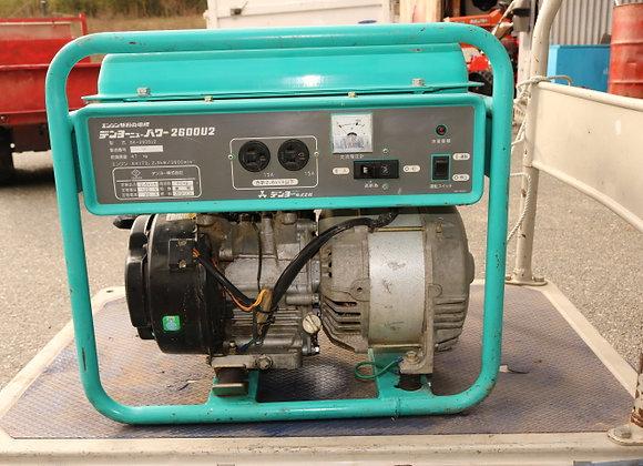 <売約済み>デンヨー 発電機 GA-2606U2 No.Y2500