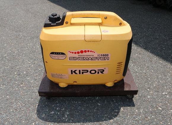 (売約済み)KIPOR インバーター発電機 IG1600 No.B34