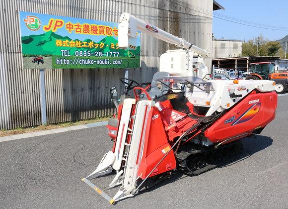 ヤンマー コンバイン CG218 No.Y2757