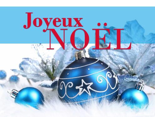 Joyeux Noël et belle fin d'année