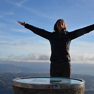 Sophro au sommet du Baou de Saint Jeannet