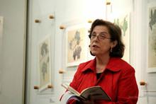 Visita da D. Idália Ramos Silva