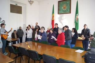 Janeiras na Câmara Municipal de Coruche