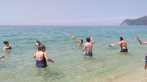 Ida à praia da Figueirinha