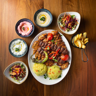 THE ROZA SHARE PLATTER