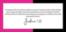 begre8t Joshua 1:8 Victoria R Gaskin