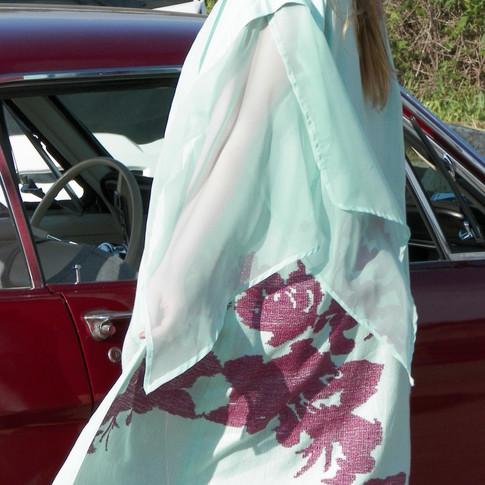 Asian inspired robe