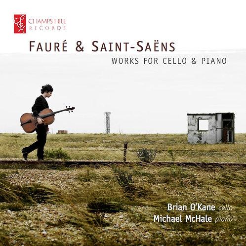Fauré & Saint-Säens works for cello & piano