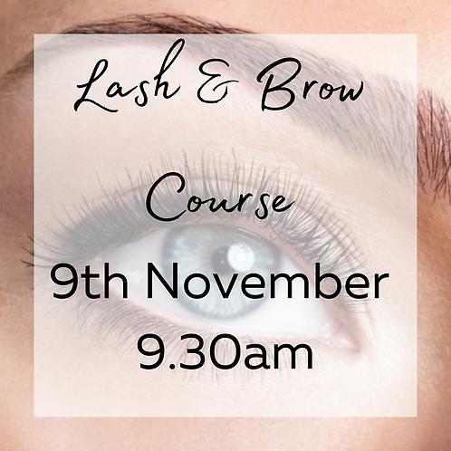 Lash & Brow Course