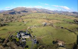 Tyddyn du Farm surrounding countryside & mountains