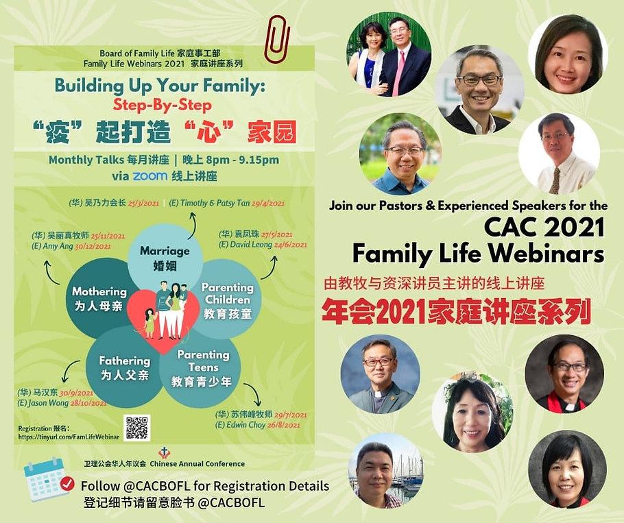 Family Life Webinar
