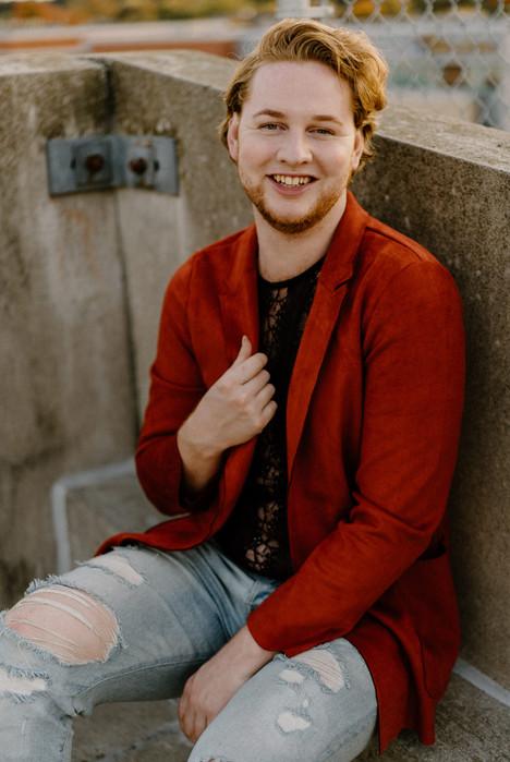 Portrait | Matty - Uptown Rooftop | Sept