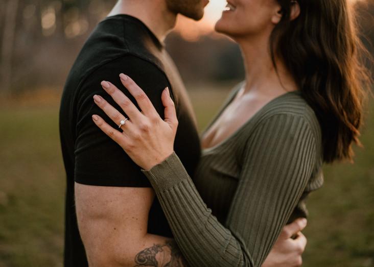 COUPLES | Kayla + Bryce | Huron Natural