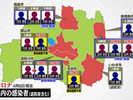 須賀川市でも感染者が出ました:第7報