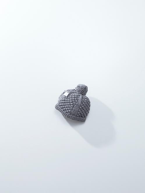 アルパカ手編みニット帽