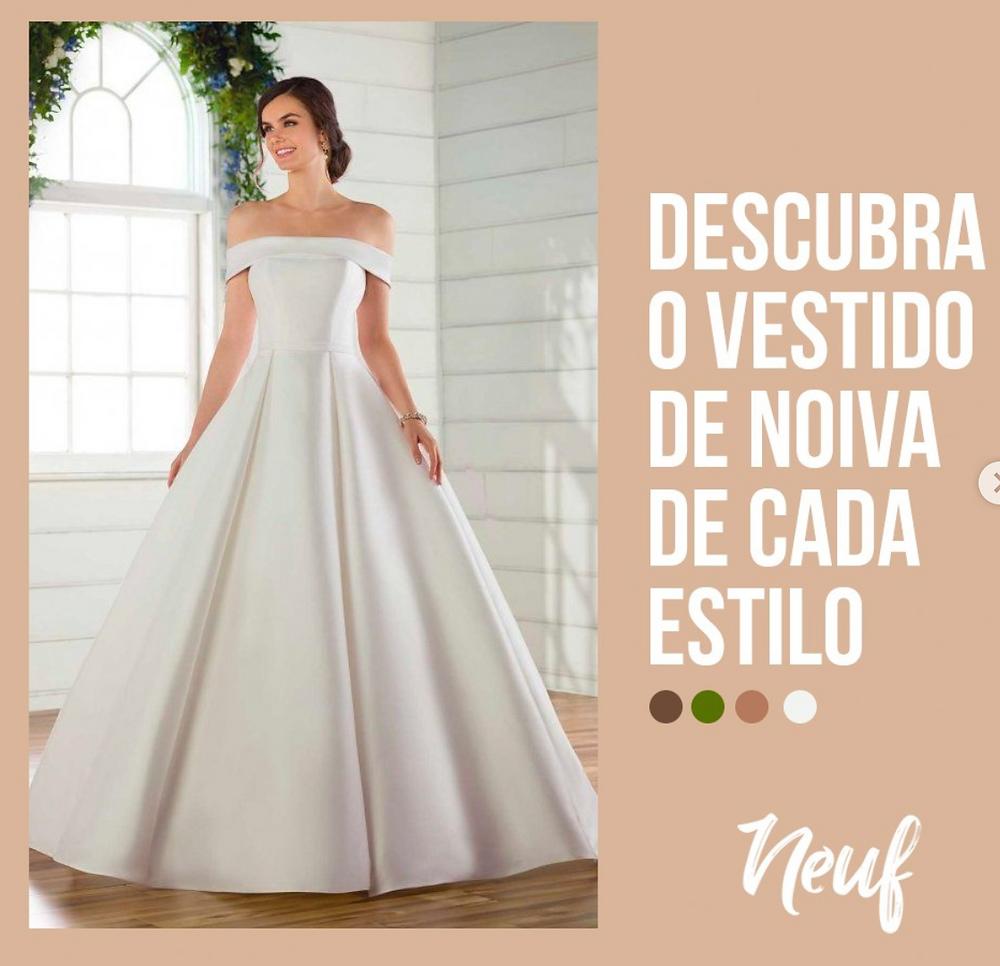 vestido noiva 7 estilos universais