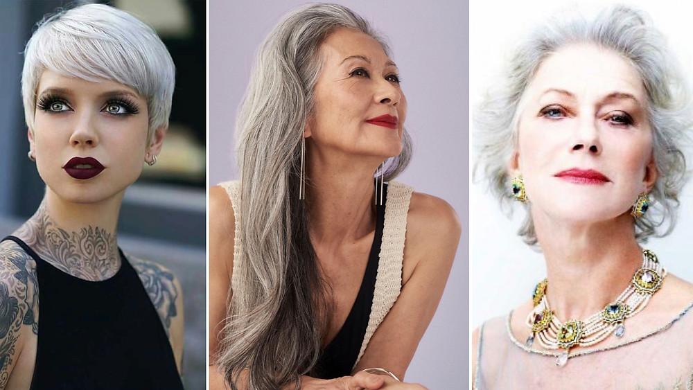 Os cabelos brancos e o empoderamento feminino