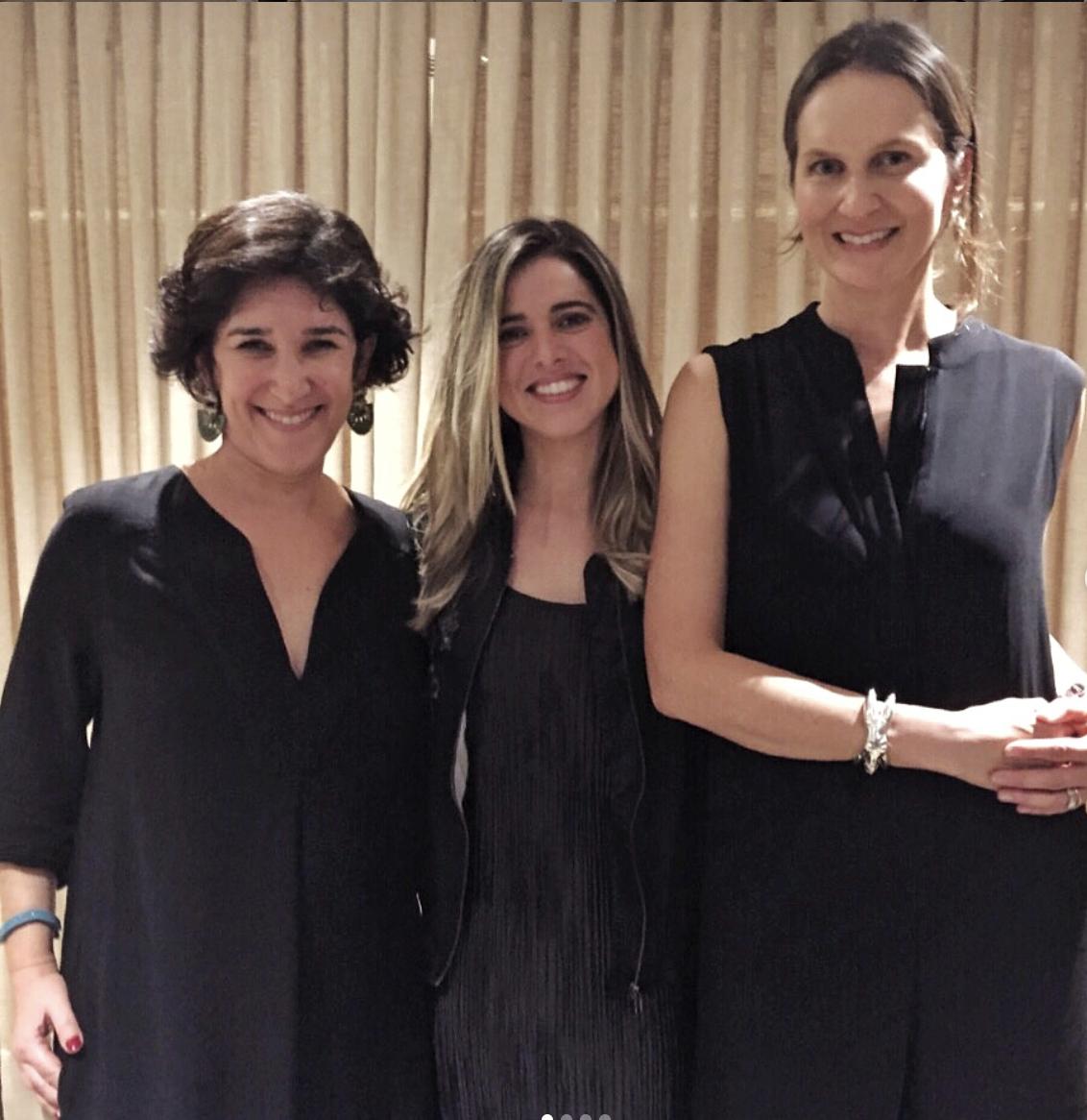 Ilanha Behrenholc, Juliana Berman e Cris Pinheiro