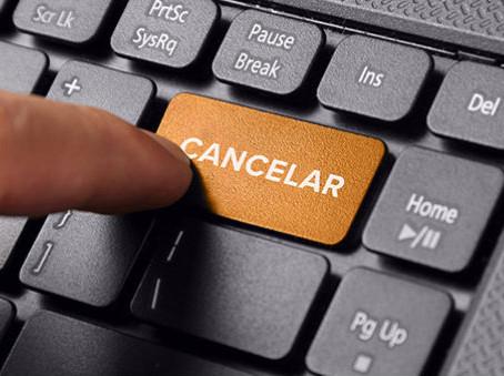 Minha cliente cancelou a consultoria: o que eu faço?