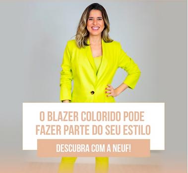 Blog de Moda - Blazer Colorido