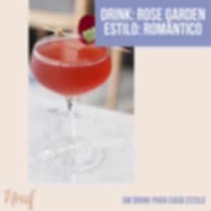 drink estilo romântico