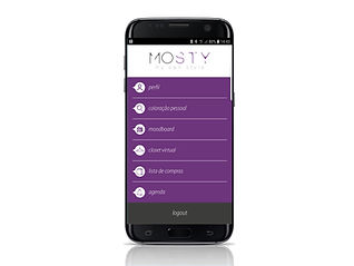 Aplicativo MOSTY - Para consultoras de Imagem