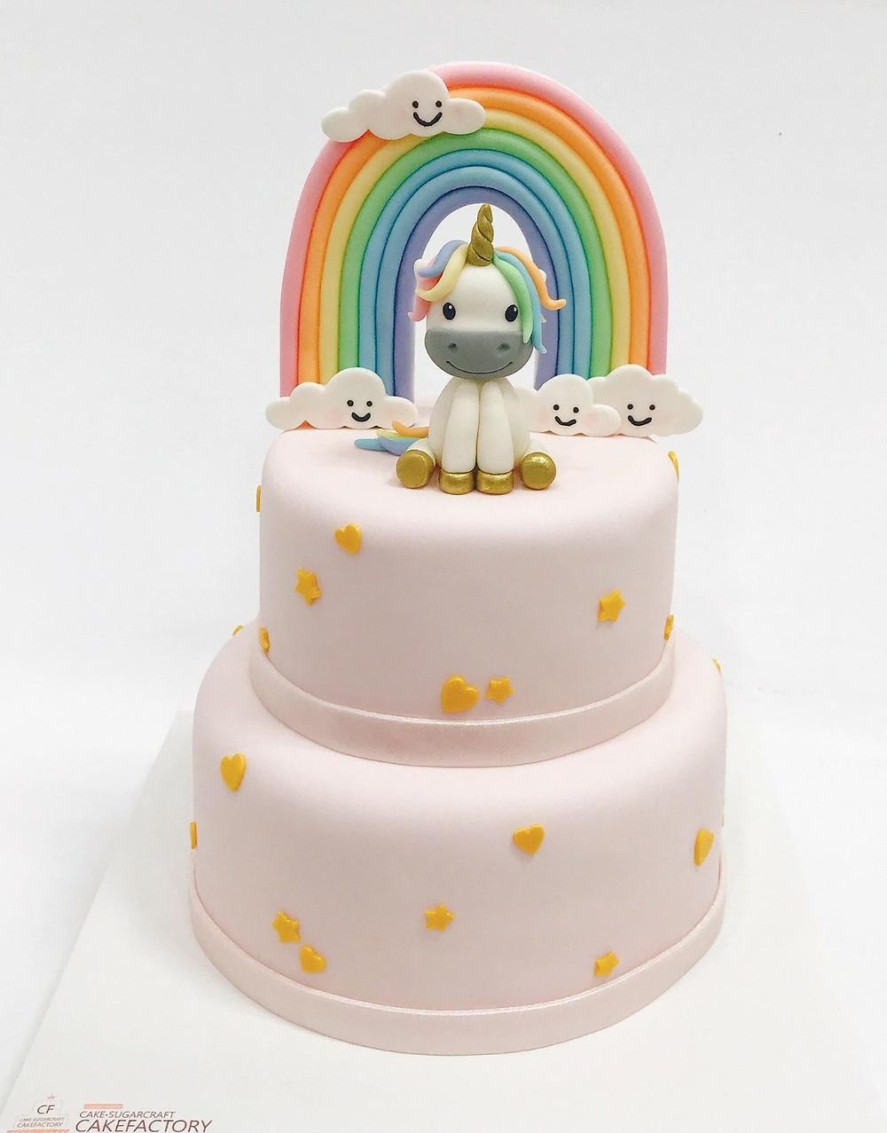 custom unicorn cake in south Korea