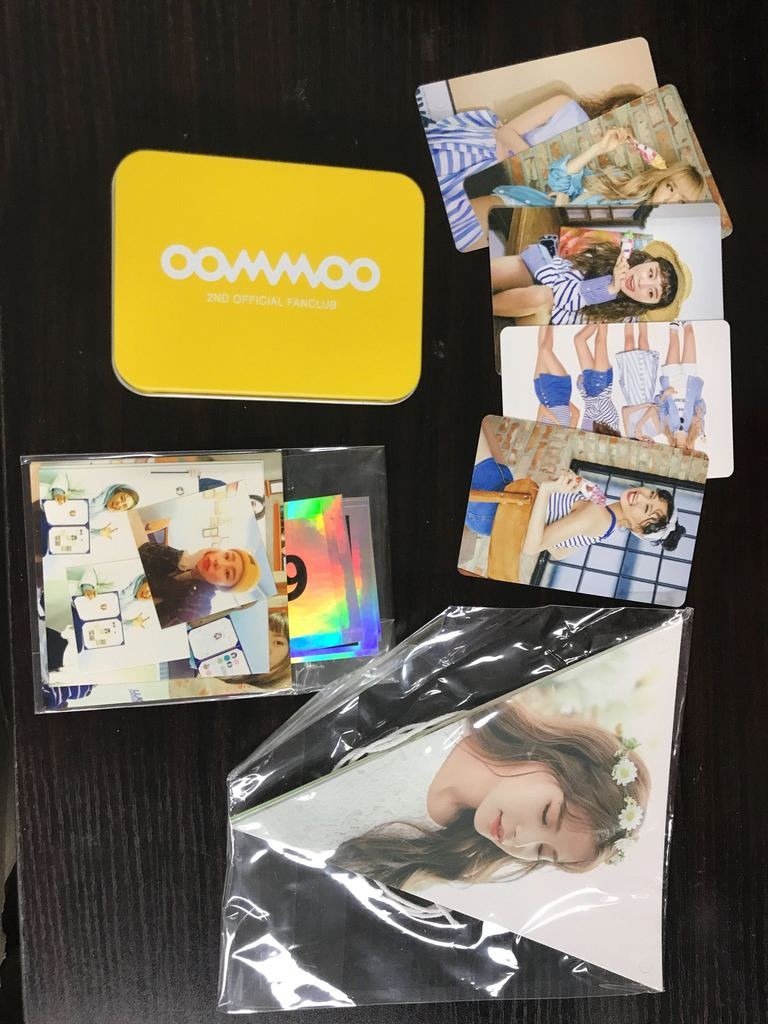 Mamamoo poka set in Korea