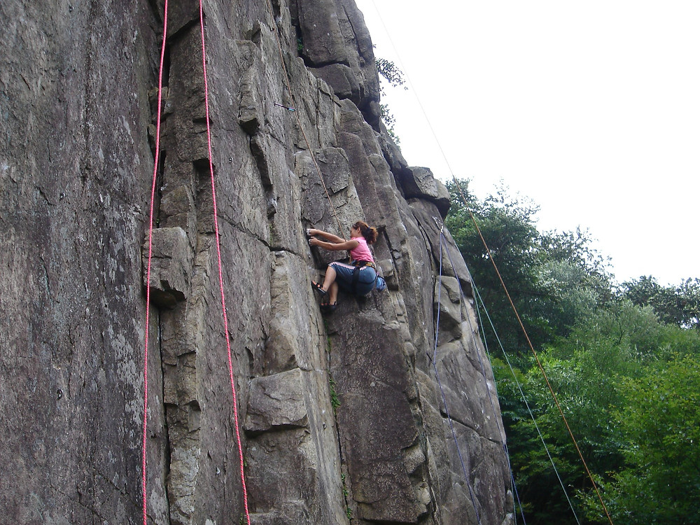 rock climbing and bouldering in south korea