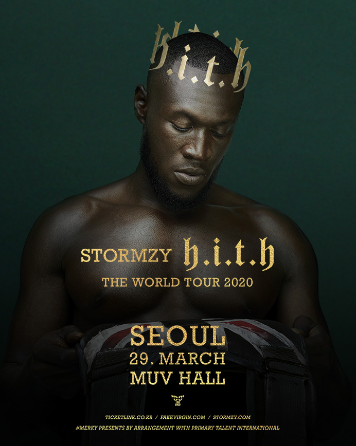 Stormzy First Concert in Korea 2020