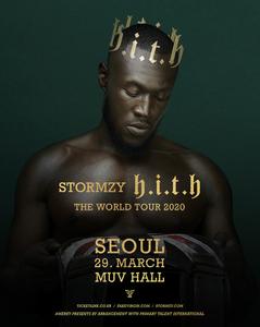 Stormzy First Concert in Korea 2020