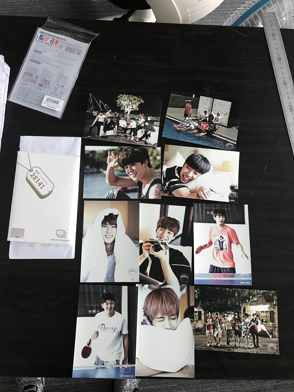 BTS Fan Meeting Photos