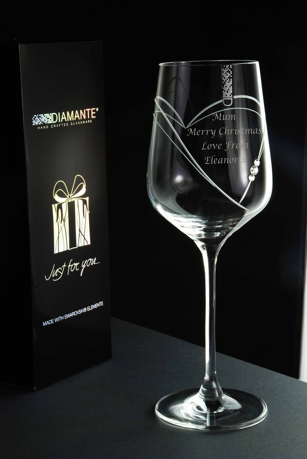 Custom engraved glass delivery in Korea