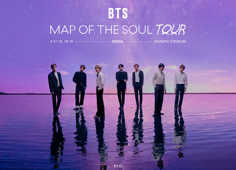 BTS Map of the Seoul Tour Concert with Ticketbay