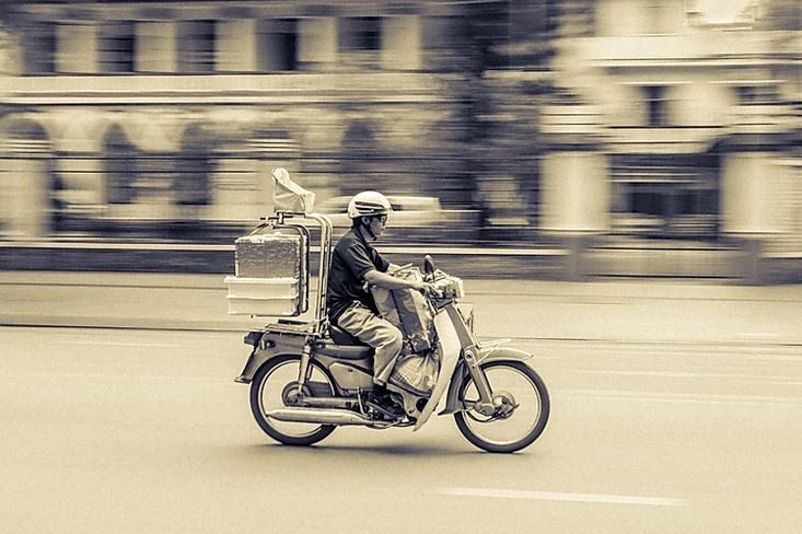 Delivery Driver in Korea
