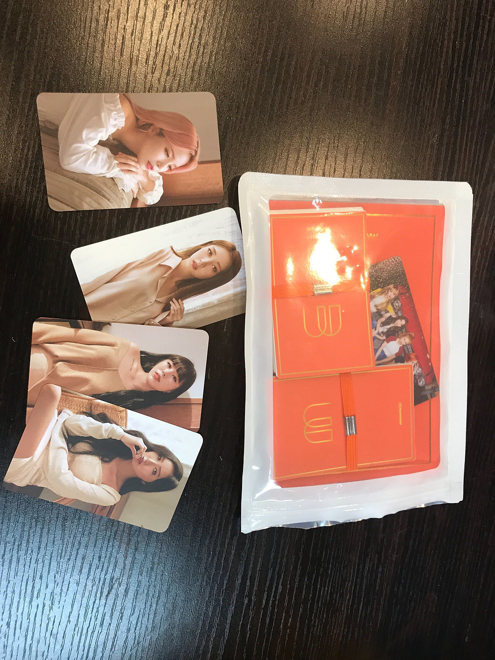 Mamamoo Merch in Korea, Mamamoo melting Kino item.