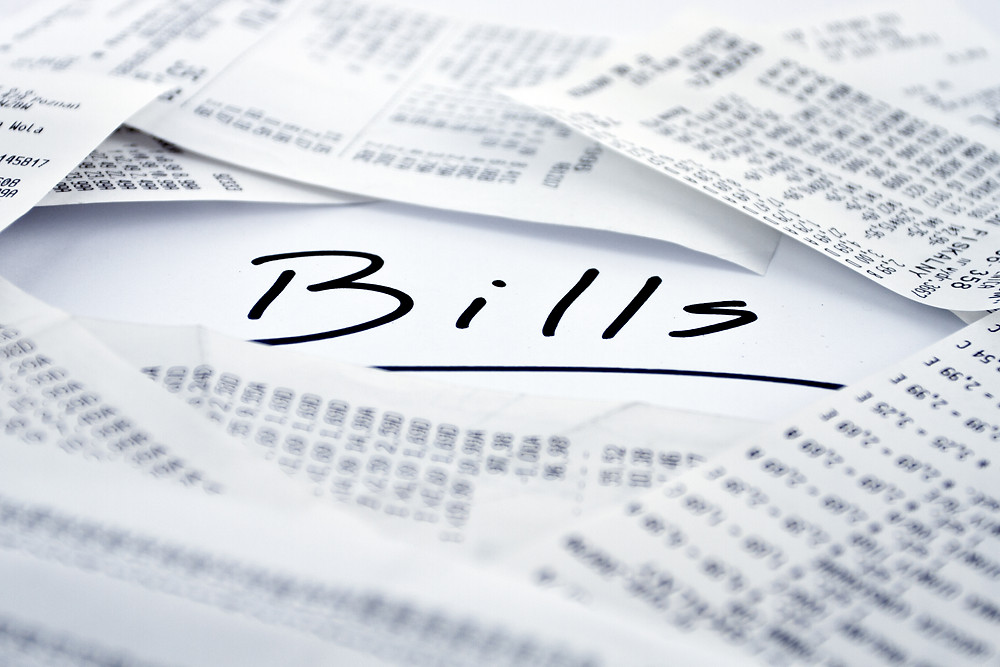 Utility bills in Korea. Gas/electricity payment bills in korea