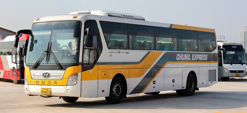 Express Bus Ticket in Korea