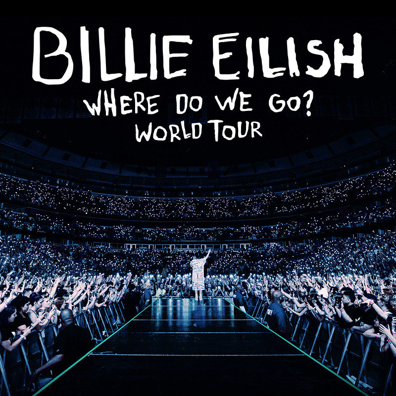 Billie Eilish Where do we go World Tour Concert