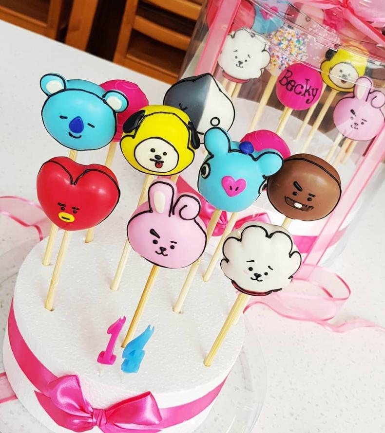 BTS or BT21 Cake Delivery in Korea