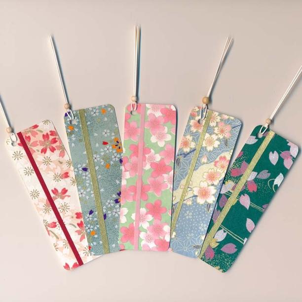 しおり 桜の集い 5枚セット