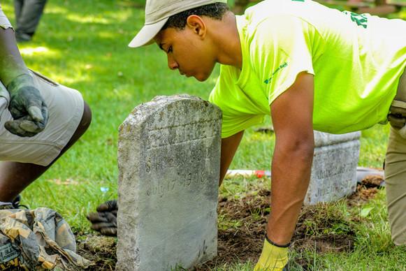 Union Hill Cemetery Restoration Project