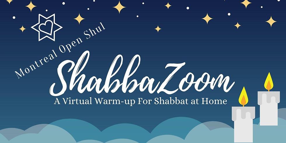 ShabbaZoom: : A Virtual Warm-UP for Shabbat at home